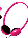 Эргономичные наушники с микрофоном и регулятором громкости (разные цвета)