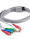 Flat Component Cable for Wii (180cm, Gray)