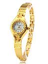 Mulheres Relógio de Moda Bracele Relógio Quartzo Lega Banda Elegantes Dourada Dourado