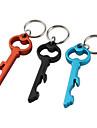 Брелок Ключи Высокое качество Многофункциональный Серебристый / Коричневый / черный увядает Металл
