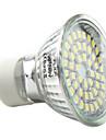3W GU10 Точечное LED освещение MR16 48 SMD 3528 180 lm Естественный белый AC 220-240 V