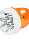 mode 2 Camping rechargeable ensemble de la torche 5 LED (AC chargeur, orange)