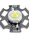 Epistar 6000-6500k 3w 170-190lm 700mAh белый Светодиодная лампа с алюминиевой пластины (3,4 3,8)