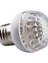 E26/E27 2.5 W 48 SMD 3528 200 LM Warm White Decorative Globe Bulbs AC 220-240 V