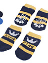 Socks & Boots for Dogs Black / Blue Spring/Fall Cotton