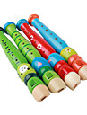 Kids Music Educational Toy Wooden Flute (Random Colors)
