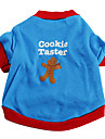 Cookies Taster Cotton T-Shirt for Dogs (XS-L)