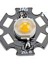 Epistar 5000-5500k 5W 360-380LM 700mAh White LED Light Bulb with Aluminum Plate (6-7V)