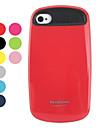 стильный силиконовый жесткий футляр для iphone 4 и 4S (разных цветов)