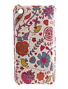 nouveau cas d'oiseau modèle fleur dur pour iPhone 3G et 3GS (multi-couleur)