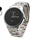 Men's Alloy Analog Quartz Fashionable Watch (Black)