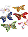 장식 아름다운 자기 나비 (임의 색상)