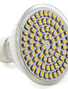 Spot LED Blanc Chaud MR16 GU10 4W 80 SMD 3528 250 LM AC 100-240 V