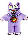 Pequeño Gato Campana Style Catnip Juguete para gato (Púrpura)