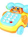 Обучающая игрушка, телефон с колесами (красный)