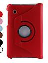 360 Grad drehbare 7 Zoll PU-Leder Hülle mit Ständer für Samsung Galaxy Tab P3100 (verschiedene Farben)