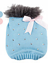 Dog Sweater Blue / Pink Dog Clothes Winter Sequins