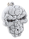 Keychain Crâne de Halloween avec la lumière et d'effets sonores (couleur aléatoire)