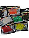 10 штук Мягкие приманки Ассорти из цветов г/Унция мм дюймовыйМорское рыболовство Пресноводная рыбалка Ловля мелкой рыбы Ужение на