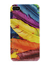 Feathers Pattern Hard Case for iPhone 4 and 4S