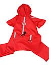отражающая лента стиль дождь стоимости с брюки для собак (ассорти цветов, S-XL)