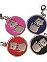 style de chat chanceux id nom de chien tag (couleurs assorties)