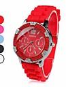пластиковые аналоговых женщин кварцевые наручные часы (ассорти)