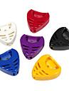 Алиса - (a010b) в форме сердца пластиковый выбирает holder/6-pack (случайный цвет)