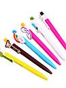мультфильм цвета радуги шариковая ручка (разные цвета)