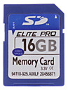 16GB Hi-speed Elite Pro SD Memory Card
