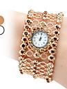 Женские Модные часы Наручные часы Часы-браслет Японский кварц Имитация Алмазный Кварцевый Группа Блестящие Богемные Элегантные часы