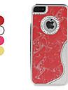 форме флэш-дизайн с жесткий футляр для iphone 5/5s (разных цветов)