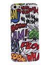 graffiti cas dur de conception pour l'iphone 5/5s