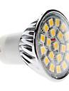 4W GU10 Lâmpadas de Foco de LED MR16 20 SMD 5050 400 lm Branco Quente AC 220-240 V