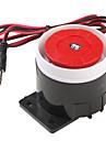 120dB Alto Alarme Sirene Buzzer Speaker Horn (Black & Red, 6 ~ 16V)