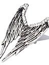 Кольца Бижутерия Стерлинговое серебро / Сплав / Стекло Массивные кольца6 Серебряный / Белый