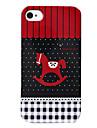 Trojan Pattern Жесткий чехол для iPhone 4 и 4S