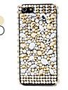 perle et un étui rigide de surface de diamant pour l'iphone 5/5s (couleurs assorties)