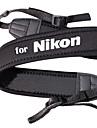 Neoprene Correia de pescoço para câmera Nikon D5000 Para D5100 e Mais