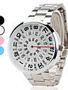 Masculino Único Criativo relógio Relógio de Pulso Quartzo Lega Banda Criativo Prata Branco Preto Azul Rosa claro