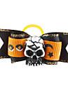Halloween Череп Стиль Крошечные Rubber Band волосы бант для собак Кошки