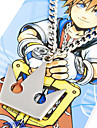 보석류 에서 영감을 받다 킹덤 하트 Sora 아니메/비디오게임 코스프레 악세서리 목걸이 실버 합금 남성