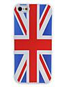 Британский национальный флаг шаблон мягкий чехол для iphone 5/5s