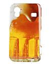 Пиво Pattern Жесткий чехол для Samsung Galaxy Ace S5830