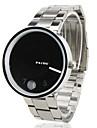 мужские стали аналоговые кварцевые наручные часы (серебро)