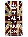 Жесткий чехол с британским флагом и короной для Samsung Galaxy S Advance I9070