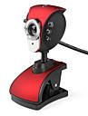 Pheonix 6-LED 5,0 мегапикселя USB 2.0 Clip-на ПК веб-камера камера с микрофоном