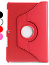 360 Degree Rotating Litchi PU Case with Stand for Samsung Galaxy Tab2 10.1 P5100