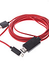 MHL Micro USB Male to HDMI Male to USB Male Adapter Cable for Samsung Galaxy S3 I9300