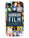 Horror Alphabet Hard Case for iPhone 4/4S